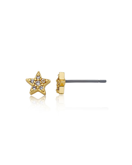 LMTS Girls' Star Stud Earrings (Hypoallergenic)