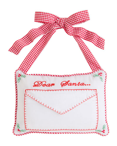 Dear Santa Door Pillow