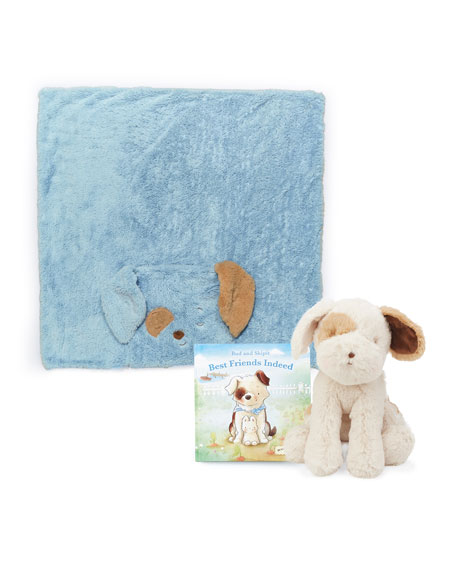 Bunnies by the Bay Bud & Skipit Tuck Me In Gift Set