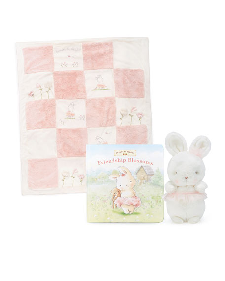 Bunnies by the Bay Tutu Delight Quilt Heirloom Gift Set