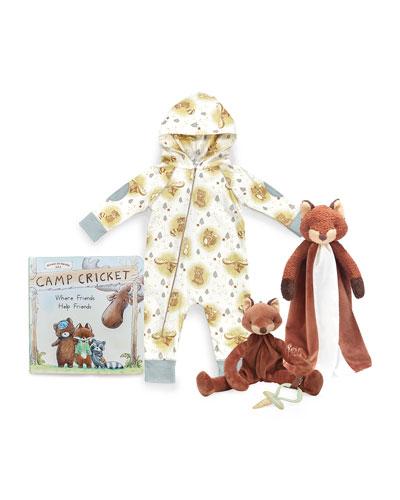 Little Camper Foxy Snuggle & Play Set