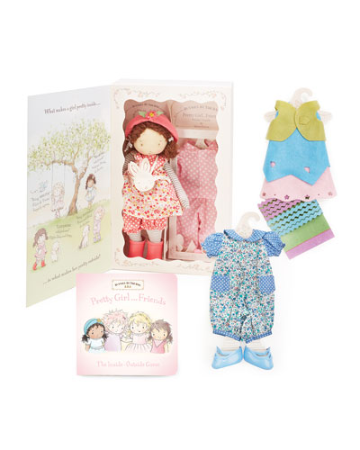 Daisy Girl Friend Doll & Book Gift Set