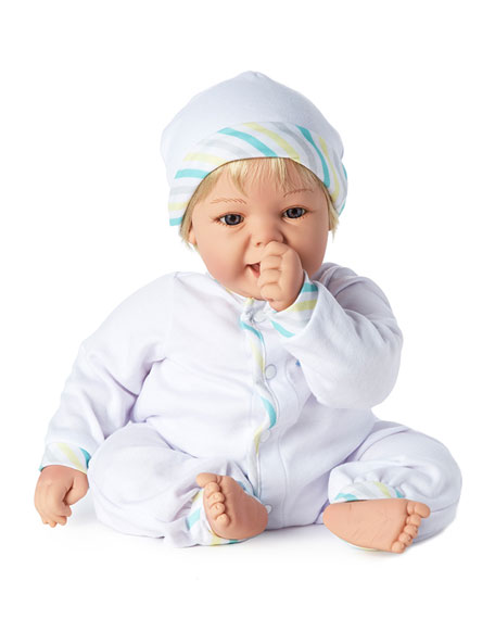Image 2 of 4: Madame Alexander Dolls Sweet Baby Blue Eyes Doll, 19""