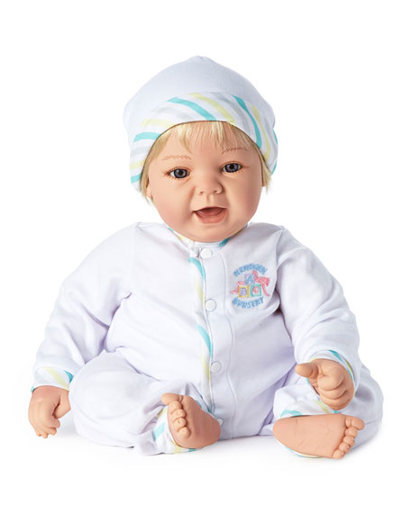 Image 1 of 4: Madame Alexander Dolls Sweet Baby Blue Eyes Doll, 19""