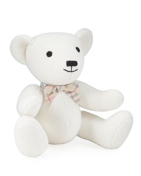 Burberry Kid's Sitting Bear Knit Toy