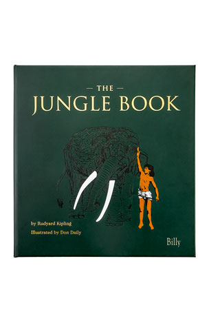 "Graphic Image Personalized Leather Bound ""The Jungle Book"""