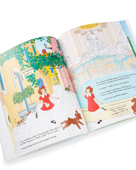 """Octobre Press """"Pansy in Rome - The Mystery of the Missing Cat"""" Children's Book"""