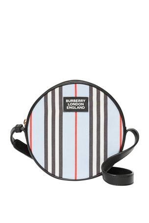 Burberry Kid's Icon Strap Tambourine Crossbody Bag