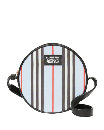Kid's Icon Strap Tambourine Crossbody Bag