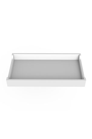 "Spot On Square 34"" White Changing Tray"