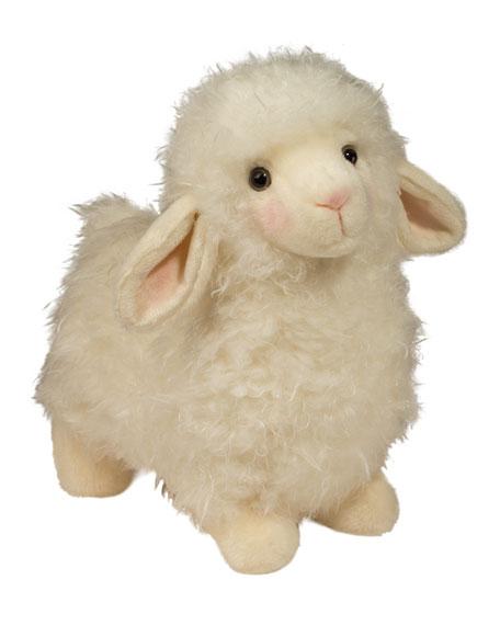 """Douglas Toula Plush Lamb, 10"""""""