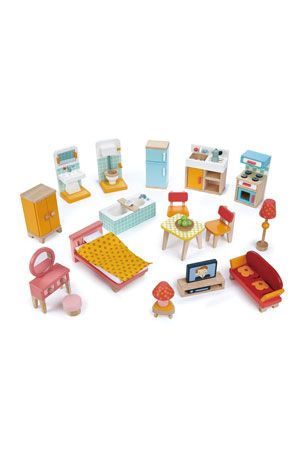 Tender Leaf Toys Foxtail Villa Starter Furniture Set