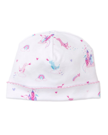 Image 1 of 2: Kissy Kissy Rainbow Castles Printed Baby Hat