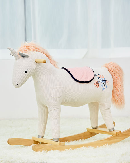 Image 2 of 2: Toy Unicorn Rocker