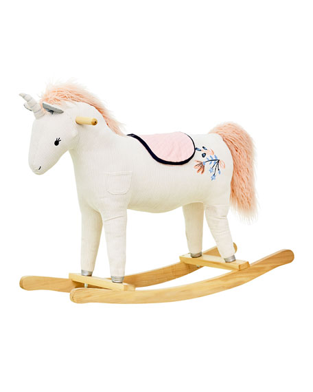 Image 1 of 2: Toy Unicorn Rocker
