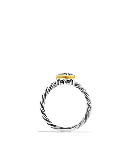 Cable Kids Heart Ring