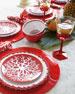 Coral Branch Melamine Dinnerware