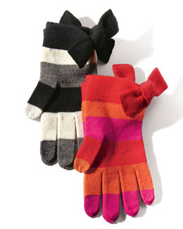 kate spade new york big apple tech gloves