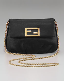 Fendi Mia Crossbody Pouchette, Mini