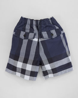 Burberry Mini Check Shorts, 18m-3T