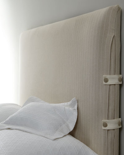 "Vanguard ""Mabel"" Slipcovered Headboards"