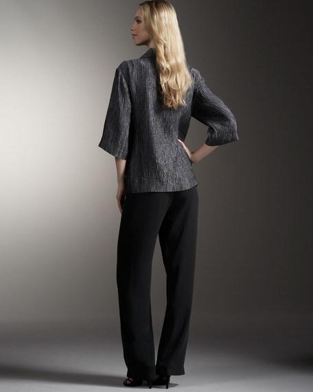 Groove Silk Jacket, Petite