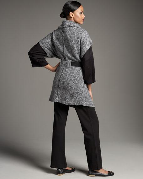 Tweed Long Cardigan, Women's