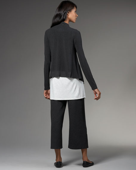 Drape-Front Cardigan, Women's