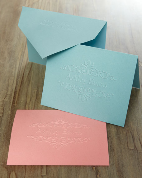 50 Floral Notes/Plain Envelopes