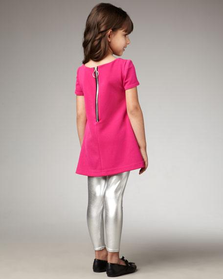 Heart-Print Tunic, Sizes 4-6X