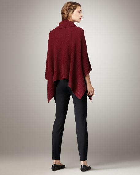 Heavy-Knit Side-Zip Pants, Petite