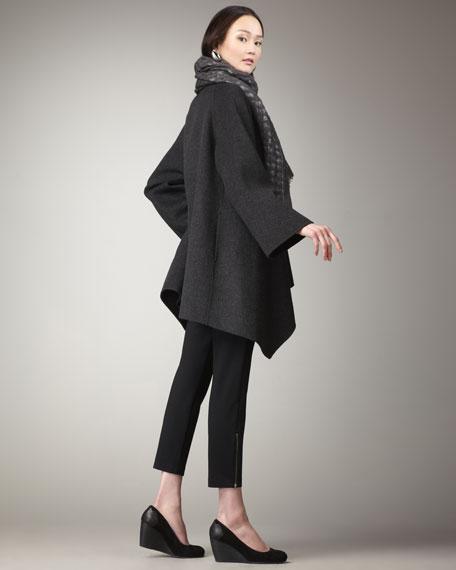 Silk-Jersey Turtleneck, Women's