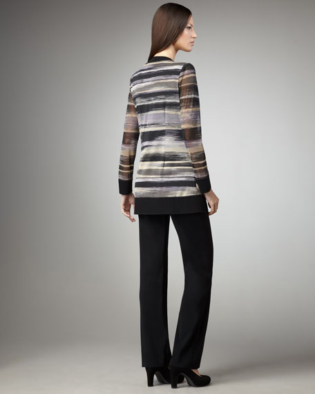 Striped Cardigan, Women's