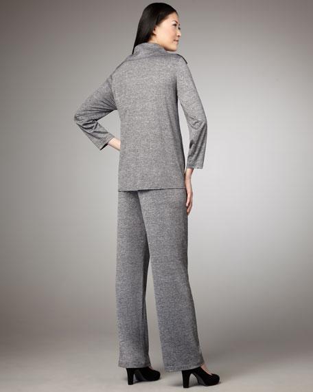 Melange Button Jacket, Women's
