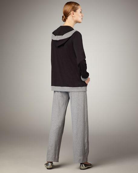 Hooded Swing Jacket, Women's