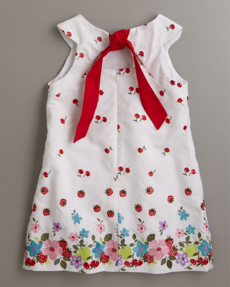 Toss Up Embroidered Floral Dress, Sizes 4-6X