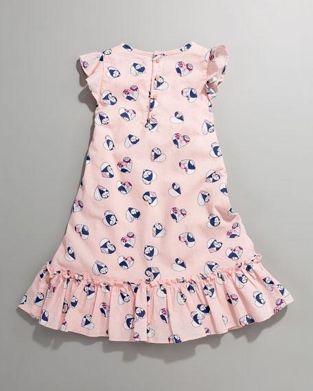 Khloe Shimmer Knit Cardigan, Sizes 2-6