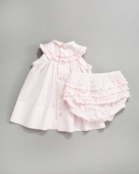 Ruffled Bloomers, Light Pink