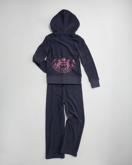 Classic Micro-Terry Hoodie, Sizes 2-6