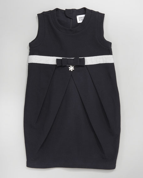 Fleece Bow Dress