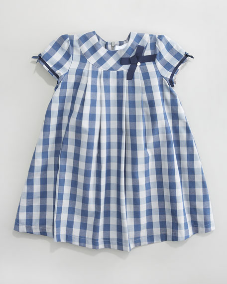 Claudine Check Dress, Sizes 2-6