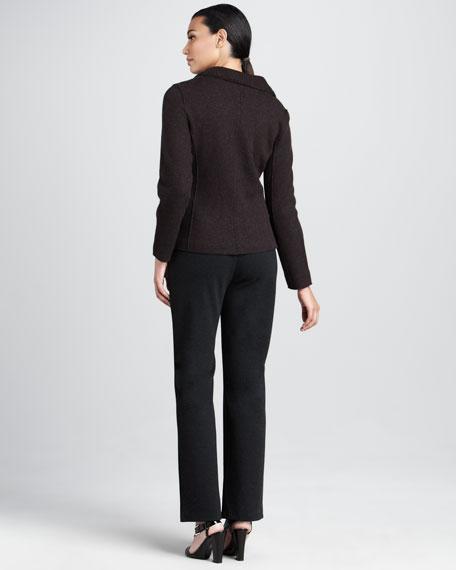 Ponte Straight-Leg Pants, Women's