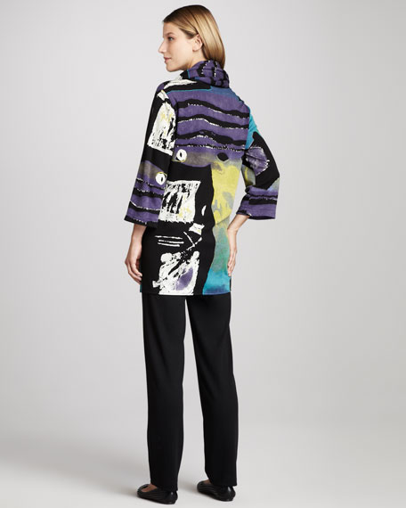 Double-Knit Slim Pants, Women's