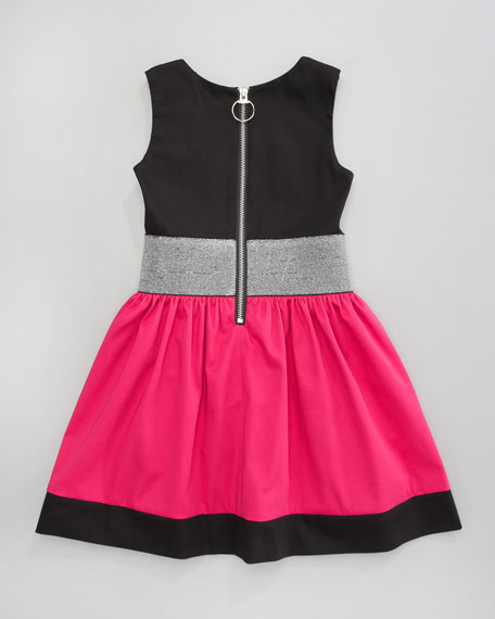 Colorblock Dress, Sizes 2-6
