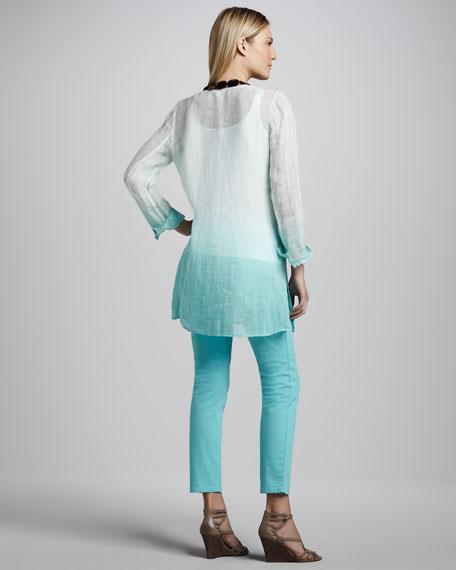 Ombre Linen Tunic, Women's