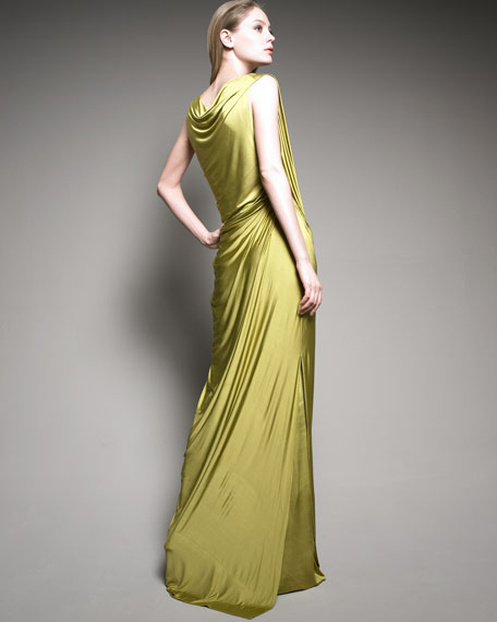 Knotted Evening Dress
