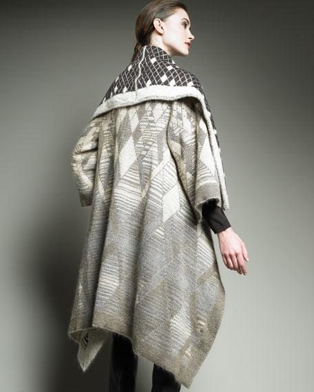 Knit Blanket Capelet