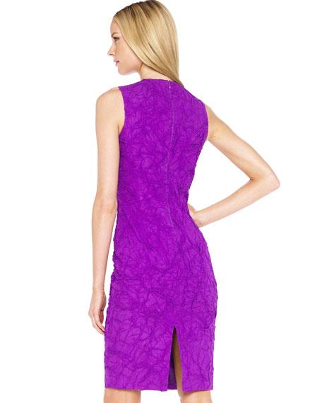 Crushed Georgette Dress