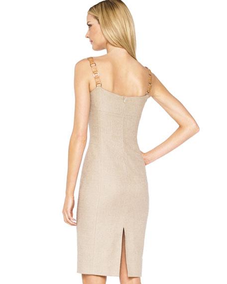 Leather-Strap Dress