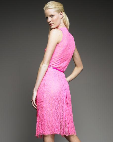 Barbara Double-Layer Lace Dress